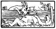 Wolf und die 7 Geisslein Otto Ubbelohde