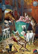 Wolf und die sieben Martin Raenike