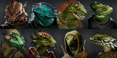 Lizard Faces LoG2