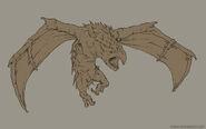 Legend of grimrock crowern sketch