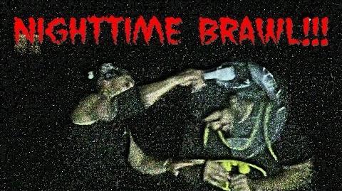 Night Time Brawl! Fucking Amateurs Boom Travone Nitro!