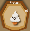 Pretzel Whipped Cream Muffin Halloween Candy