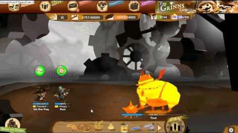 The Grinns Tale, Archer Lv17 vs Floor 25