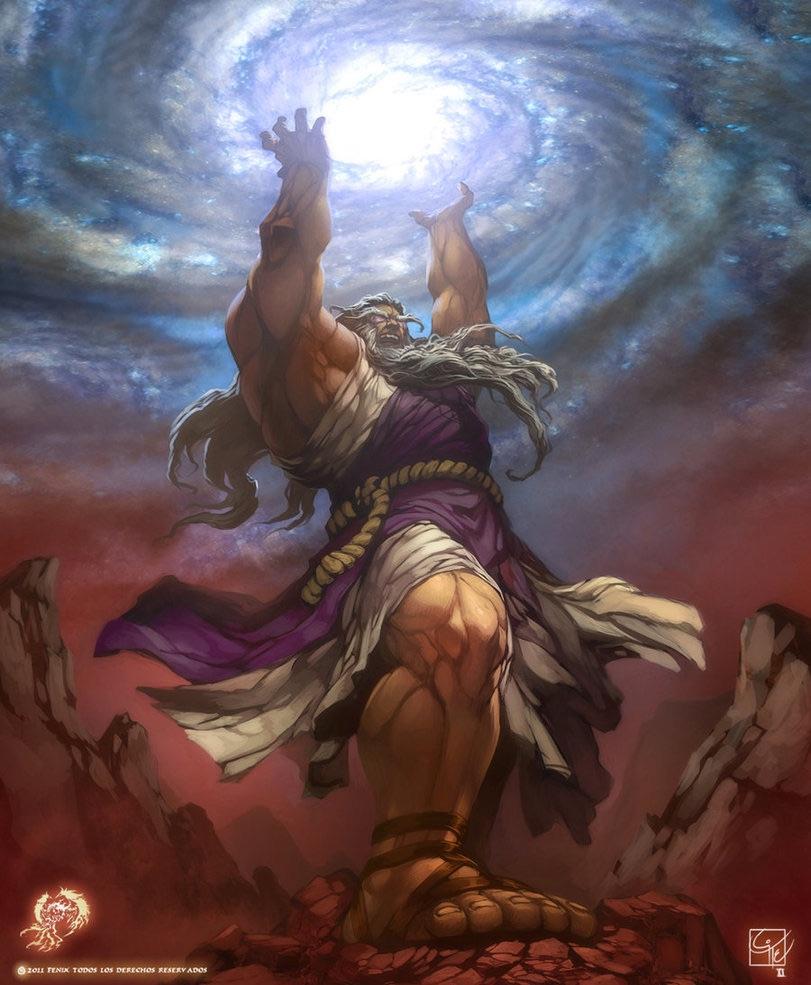 Zeus And Kronos