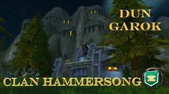 Grobbulus Opening of Server Ceremony! Clan Hammersong March!