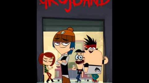 Grojband - Song 41 Stuck On The Island From The Episode 21 (Original Version) (HQ)