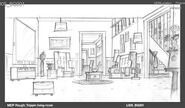 Concept Art of the Living Room