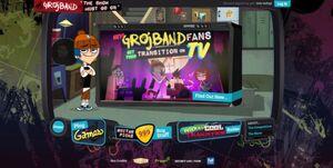 Main Grojband Website