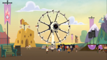 World's Most Accurate Ferris Wheel