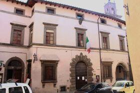 Palazzo Nerucci Castel del Piano facciata