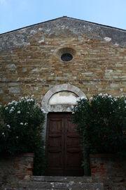 Chiesa di San Donato Scarlino facciata