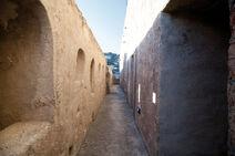 Porto Santo Stefano Fortezza Spagnola camminamenti