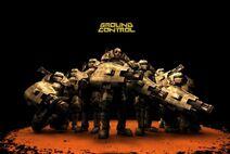 GC Wallpaper Marine Squad