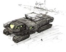 GC Concept Missile Vehicle