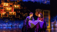 Andy Karl and Carlyss Peer as Phil Connors and Rita Hanson
