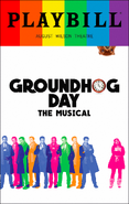 Groundhog Day Broadway June 2017 playbill