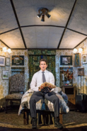 Andy Karl as Phil Connors in his room