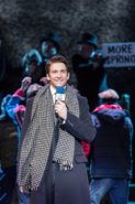 Andy Karl as Phil Connors reporting