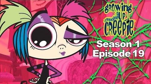 Growing Up Creepie - S1 Ep 19 - On Thin Ice Toxic Mutant Millipede