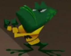 Middlington-Bullfrog-Mascot