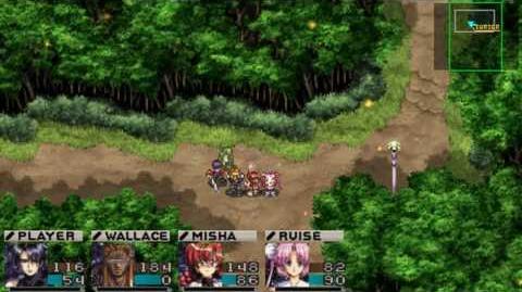Growlanser PSP Gameplay Battle Footage HD