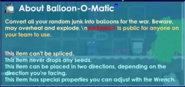 Balloon O Matic