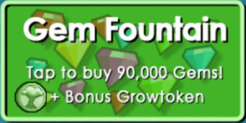 Gems Fountain
