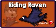 Riding raven store