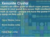 Xenonite Crystal