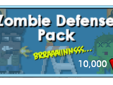 Zombie Defense Pack