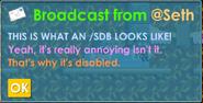 Sdb test1