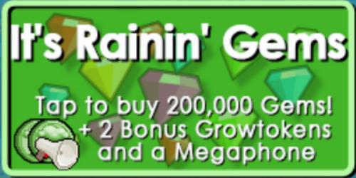 Raining Gems