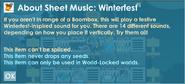 Sheetmusicwinterfest