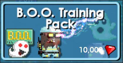 B.O.O Training Pack