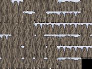 Frozen Stone Cliffs Sprites
