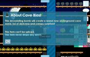 Cave blast