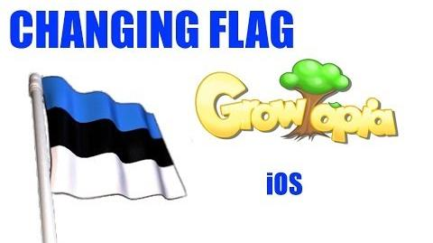 Growtopia- Changing flag I Mac