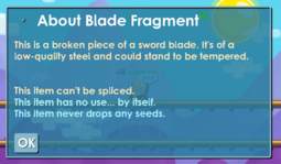 Blade Fragment's description.