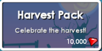 HarvestButton