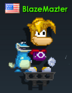 Rayman set growtopia