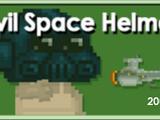 Evil Space Helmet