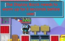 DIsplay Block Warm up