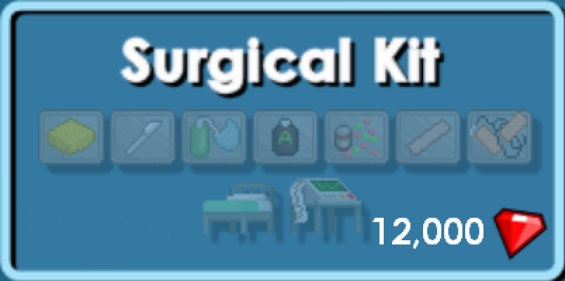 Hospital Bed Growtopia