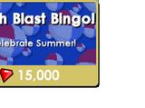 Beach Blast Bingo!