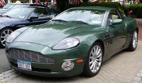 SC06 Aston Martin Vanquish green