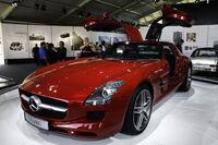 Mercedes Benz SLS AMG - Flickr - andrewbasterfield