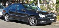 2001-2004 Mercedes-Benz C 32 AMG (W203) sedan 01