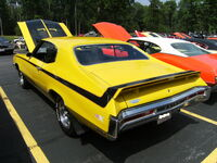 1970 Buick GSX in Saturn Yellow