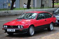 Alfa Romeo GTV6 Hong Kong