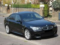 BMW E60 M5 (UK) - Front